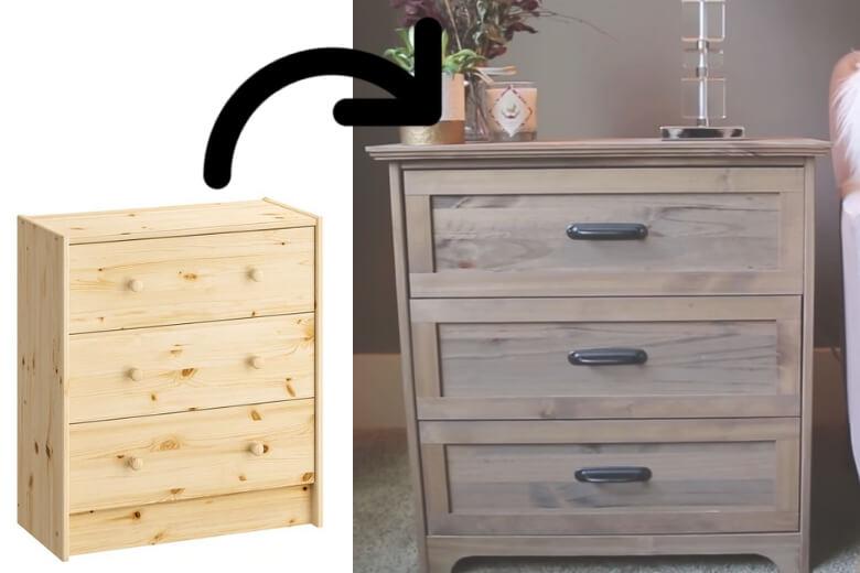 Kledingkast Hangkast Ikea.Deze Mensen Transformeerden Hun Ikea Rast Kast Tot Een Chic Exemplaar